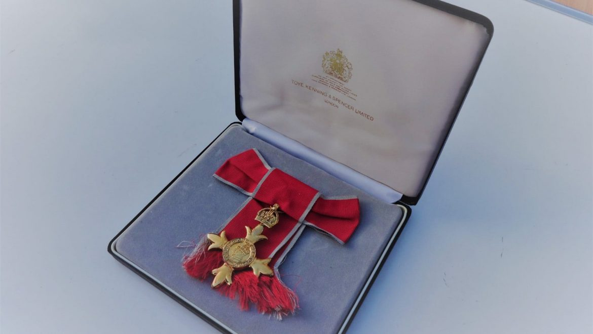 Can you help us find the rightful owner of this lost OBE?