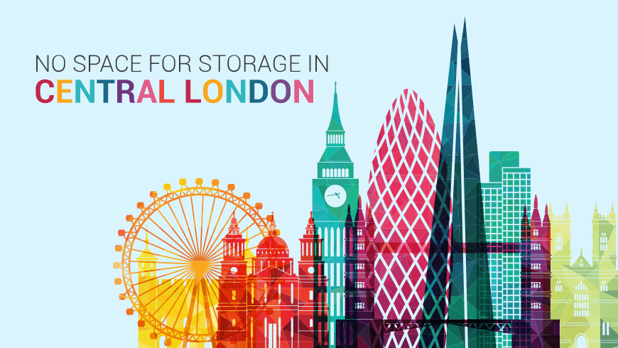 Last Minute Material: No Space for Storage in Central London