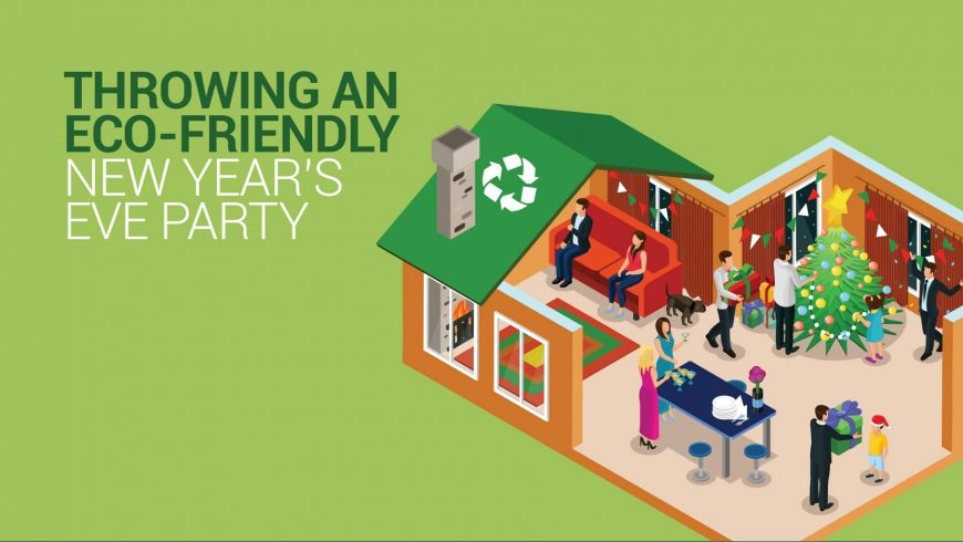 Throwing an Eco-Friendly New Year's Eve Party