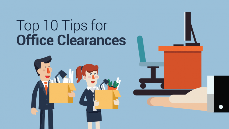 Enviro Waste's Top 10 Tips for Office Clearances