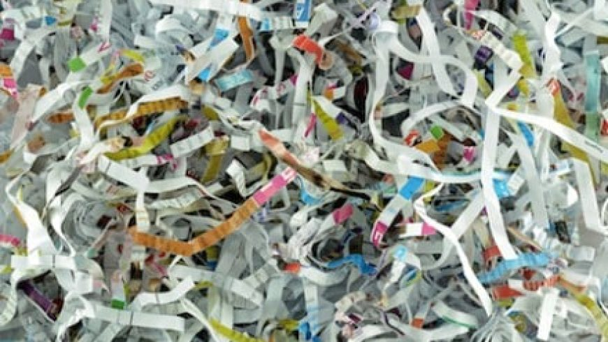 Only a third of companies shred private documents